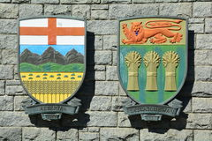 Provincial Coat of Arms. Stock Photo