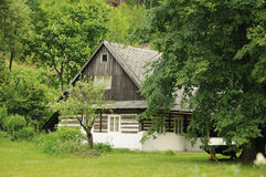 Provincial cottage Royalty Free Stock Photo