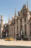 Provincial Court of Bruges. Bruges is the capital and largest city of the province of West Flanders in the Flemish Region of Belgium Stock Photo