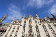 Provincial Court in Bruges Stock Photo