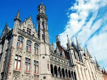 Provincial Court in Brugge Stock Image