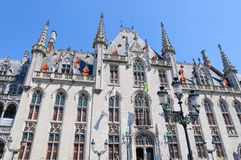 The Provincial Court (Provinciaal Hof) in Bruges, Belgium Royalty Free Stock Images