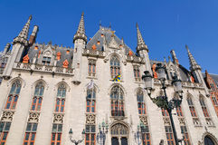 The Provincial Court (Provinciaal Hof) in Bruges, Belgium Royalty Free Stock Image