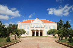 The provincial hall in Battambang City, Cambodia Stock Photography