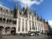 Provincial Palace in Bruges Stock Photography