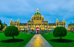 Provincial Parliament in Victoria, Canada royalty free stock images