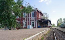 Provincial Railway Station Stock Photos