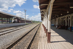 Provincial Railway Station Stock Image