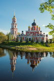 Provincial Russian town of Staraya Russa Royalty Free Stock Photos
