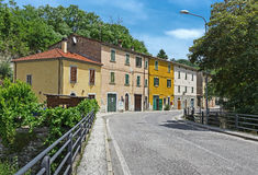 Provincial town in Italy Stock Photography