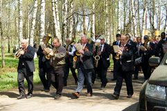 Provincial wind band Royalty Free Stock Photos