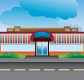 Provinciale winkel Stock Fotografie