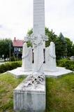 Provinsiell cenotafium - Fredericton - Kanada fotografering för bildbyråer