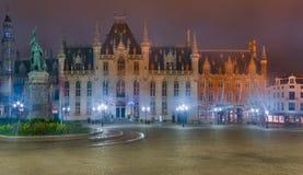 Provinsiell slott i Bruges royaltyfri bild