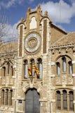 Provinsiellt historiskt arkiv av Teruel spain royaltyfri bild