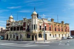 Provinsiellt hotell i Ballarat Arkivfoto