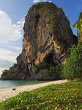 Provinz Thailands Krabi Strand Railay Phra Nang Lizenzfreie Stockfotos