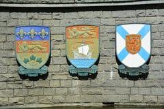 Provinzielles Wappen Lizenzfreies Stockbild