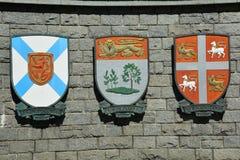 Provinzielles Wappen Stockfotografie