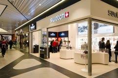 Provkarta shoppar Fotografering för Bildbyråer