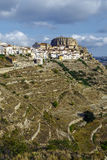 Província de Ares del Maestrazgo de Valência, Espanha Fotografia de Stock Royalty Free