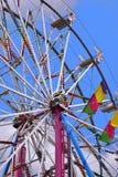 Provningssäkerhet av Ferris Wheel Royaltyfri Bild