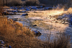 Provo river. Stock Images