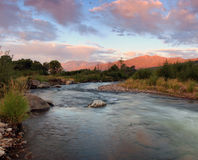 Provo River Sunrise Stock Photography