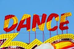 Provocação da dança Fotografia de Stock