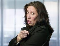 Provokative hispanische Frau Lizenzfreies Stockbild