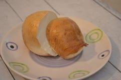 Provola fum? la comida italiana del queso del b?falo fotografía de archivo