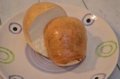Provola fum? la comida italiana del queso del b?falo imagenes de archivo