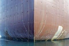 Prow ładunku statek Fotografia Royalty Free