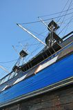 Prow azul Foto de Stock