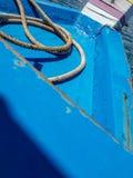 Prow błękita morze Obrazy Royalty Free