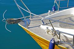 Prow of boat Royalty Free Stock Photo