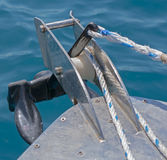 Prow of boat Stock Image