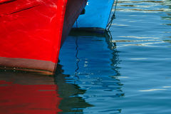 Prow of boats Royalty Free Stock Photos