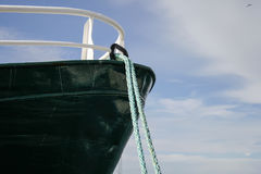 Prow of a fishing boat Royalty Free Stock Photos