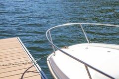 Prow jacht Obrazy Stock