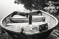 The Prow of the Rowboat Stock Photography