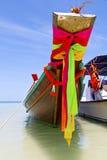 Prow thailand  kho tao bay      pirogue   and south china sea Royalty Free Stock Photography