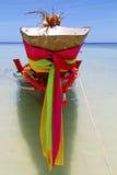 Prow Thailand w kho Tao zatoki Asia wyspie błękitnej czyści Obrazy Royalty Free