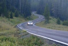 prowadnikowa samochód góra Fotografia Stock