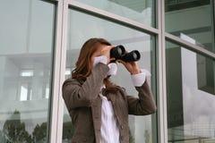 prowadzenia poszukiwań kobieta Obraz Stock