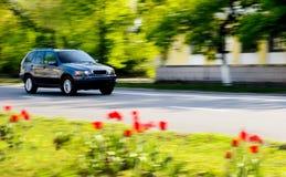 prowadzenie samochodu Obrazy Royalty Free