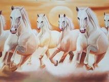 prowadzić koni Royalty Ilustracja