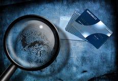 prowadzi śledztwo w sprawie kredytu Fotografia Stock