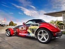 Prowler Крайслера Плимута, автомобиль спорт стоковая фотография