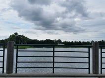 Proximidades do lago da celebração Imagens de Stock